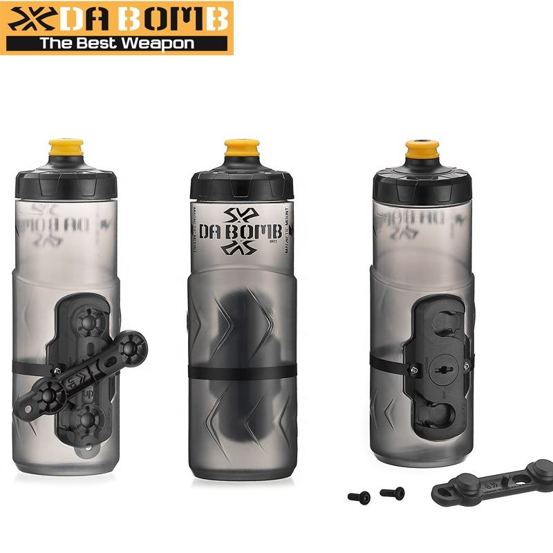 DABOMB Bike Components Magnetic Mount Bicycle 600ミリリットルWater Bottle