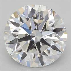 Polished Round  Lab Grown Hpht Hthp Cvd Synthetic Diamond