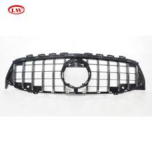 Hot Sale GT style chrome Front Grille For Mercedes Benz CLA W118 2020 ABS Car front bumper grille