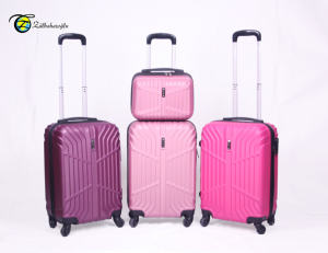 Luxury Design Made In Turkey Luggage 4 Spinner Wheels Suitcase Set Valise Koffer