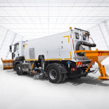 Vacuum Road Sweeper Truck - Orakci Machine
