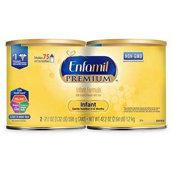 Premium Infant Formula Baby Milk Powder Bulk 2 Pack