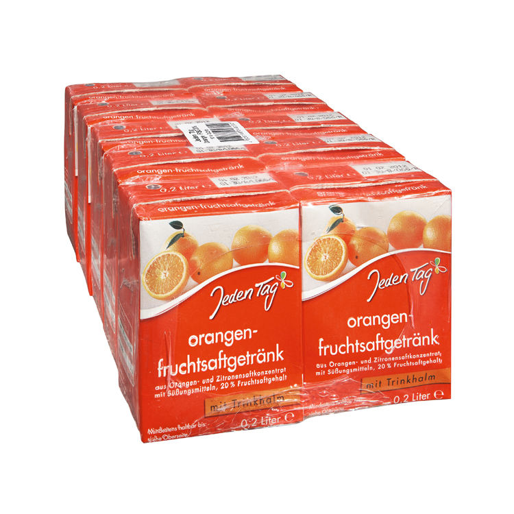 Made in Germany Private Label Good Quality Non Alcoholic Beverage Orange Fruit Juice Drink