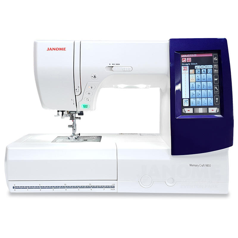Máy Thêu & May Janome Memory Craft 9850 QCP