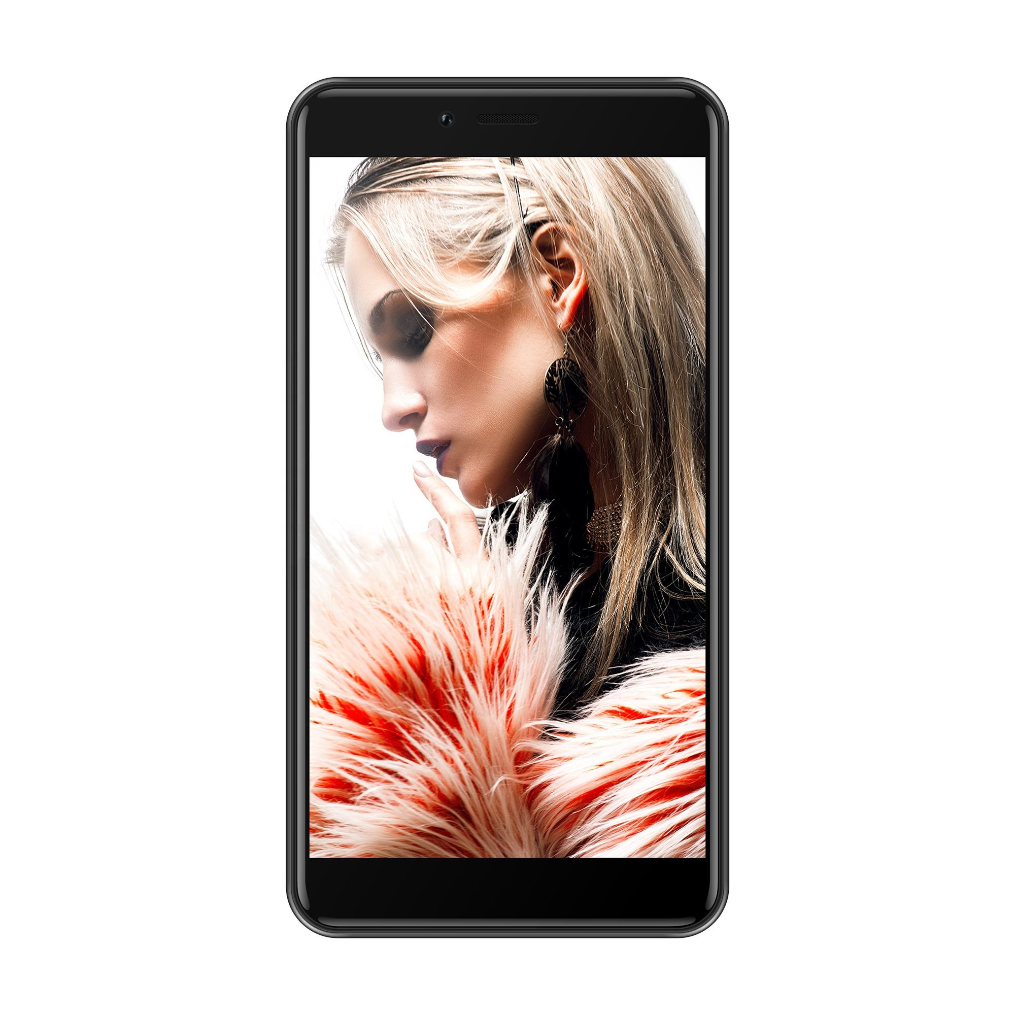 New 5.5 Inch IPS Dual SIM Card Smart Phone 4 RAM 64G ROM Quad Core Cheap 4g lte Smartphone Android Celulares