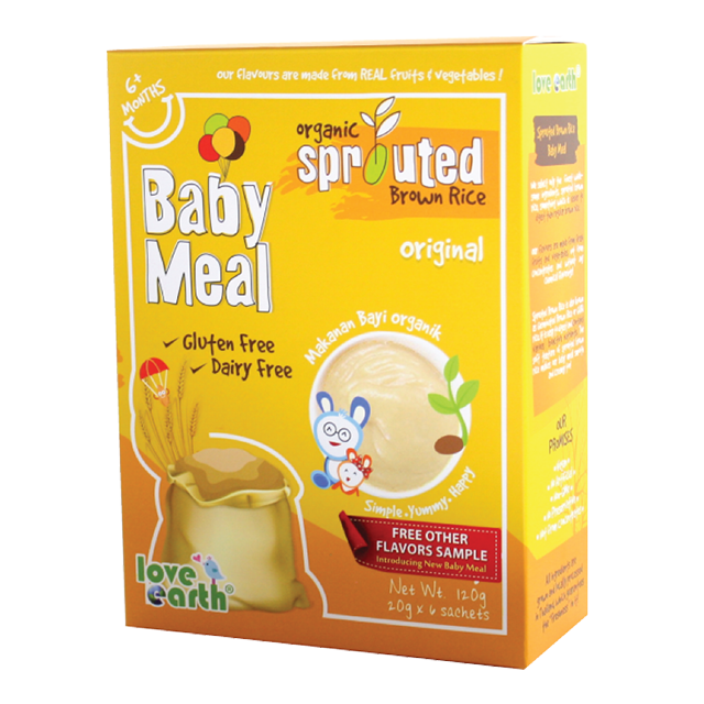 Soft texture Brown Rice Baby Food