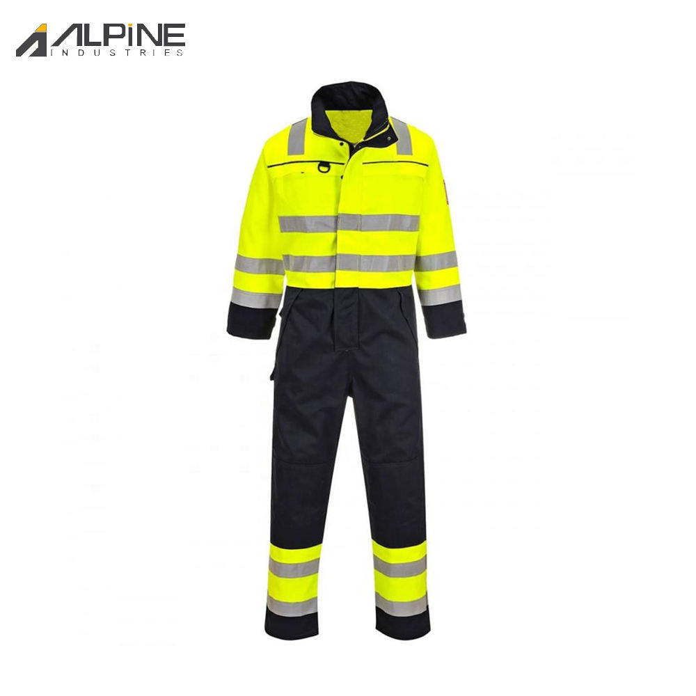 New Design High Visibility Coveralls / Orange Work Coveralls / Work Wear For Men Flame Retardant Coveralls