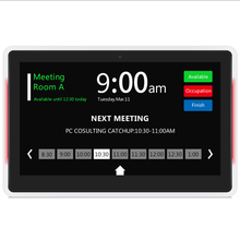 SyncSign E-ink touch screen 13 inch LCD display for booking ad display stores&markets