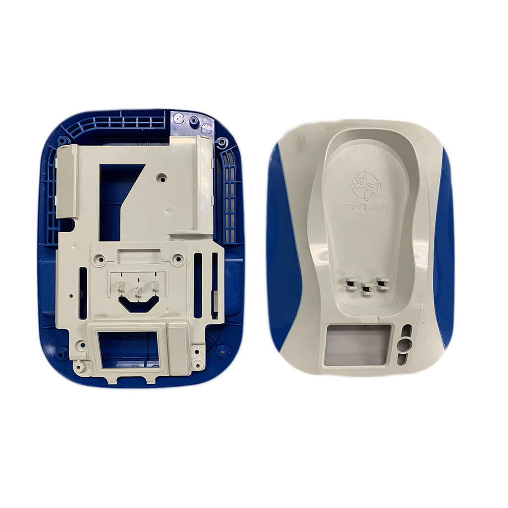 Customised Plastics Double Colored Plastic Injection Mould for Blood Pressure Reader Manufacturer in Malaysia