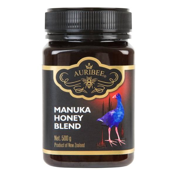 Manuka Blend Honey 500g jars, raw honey New Zealand pure bulk