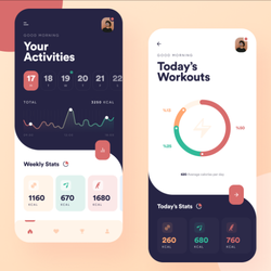 Best Workout Tracker App Design | Android Fitness Tracker App
