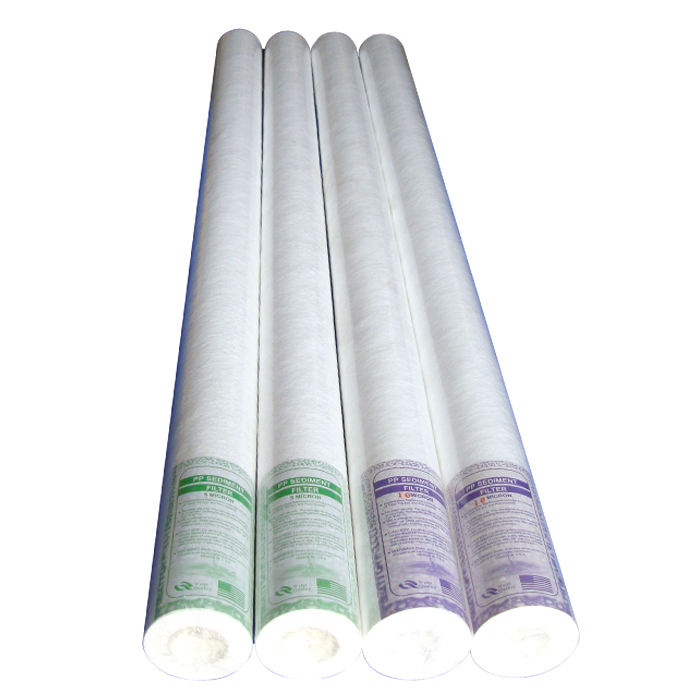 10/20 Incn PP cotton water filter element for Water softener and reverse osmosis