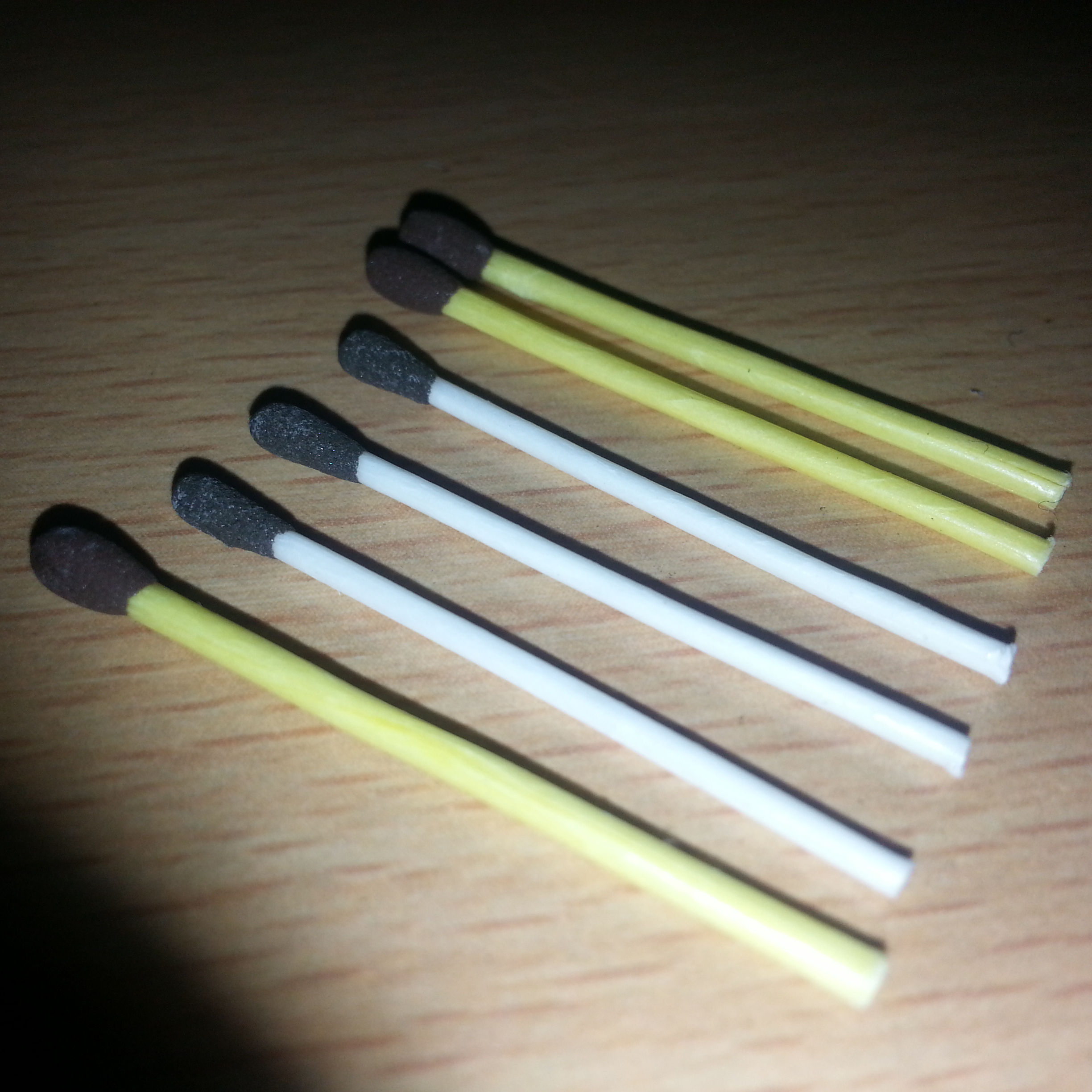 Wax Match Sticks