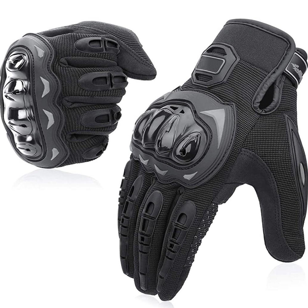 Motorbike gloves leather motorbike gloves racing gloves