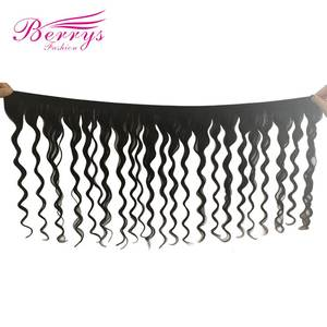 Peruvian Remy Hair 10-30inch Big Deep Wave Unprocessed 100% Virgin Human Hair Bundles Double Weft for Hair Install