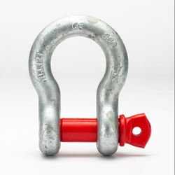 Shackles with screw pin dee or bow Alloy steel shackles