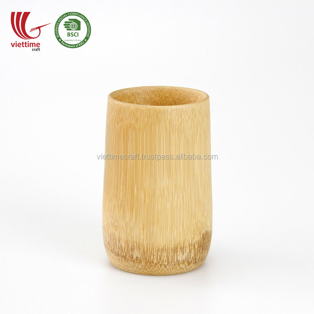 Bulk Order Natural Eco friendly Bamboo Cup Wholesale/ Bamboo Tea CUP Vietnam