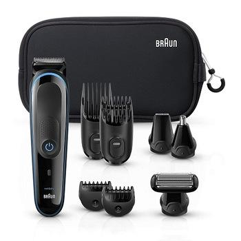 New-Braun Multi Grooming Kit MGK3980 9-in-1 Precision Trimmer for Beard and Hair Styling