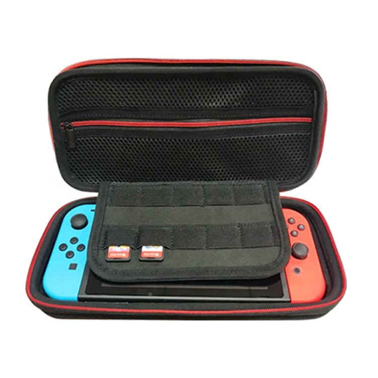 Custom Tech VR Video Game Switch Accessories Eva Protector Hard PS4 Game Carry Console Case For Nintendo Game Switch