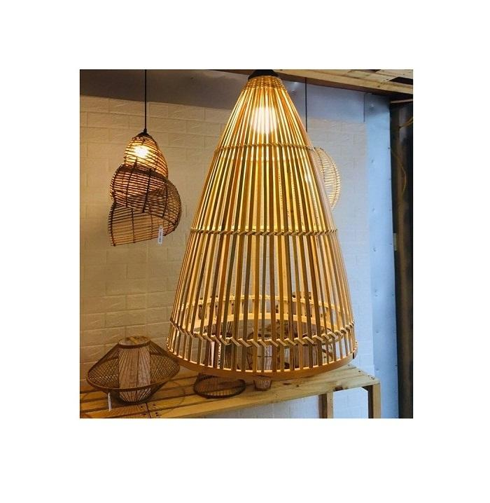 Moderne Bambus Pendel leuchte Holz Suspension Laterne Decken leuchte Für Salon Restaurant Bar Cafe Home Decor Light