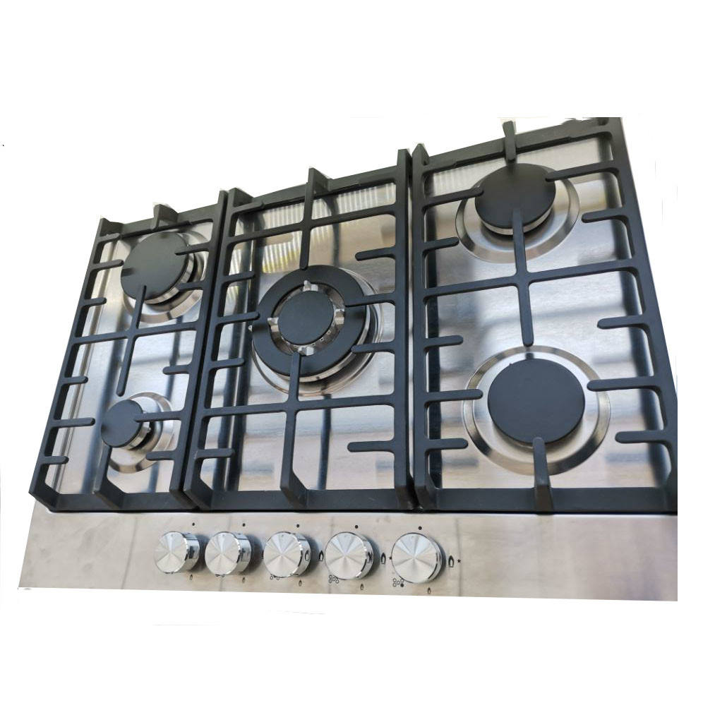 High quality built-in gas hobs with energy class 5 burner