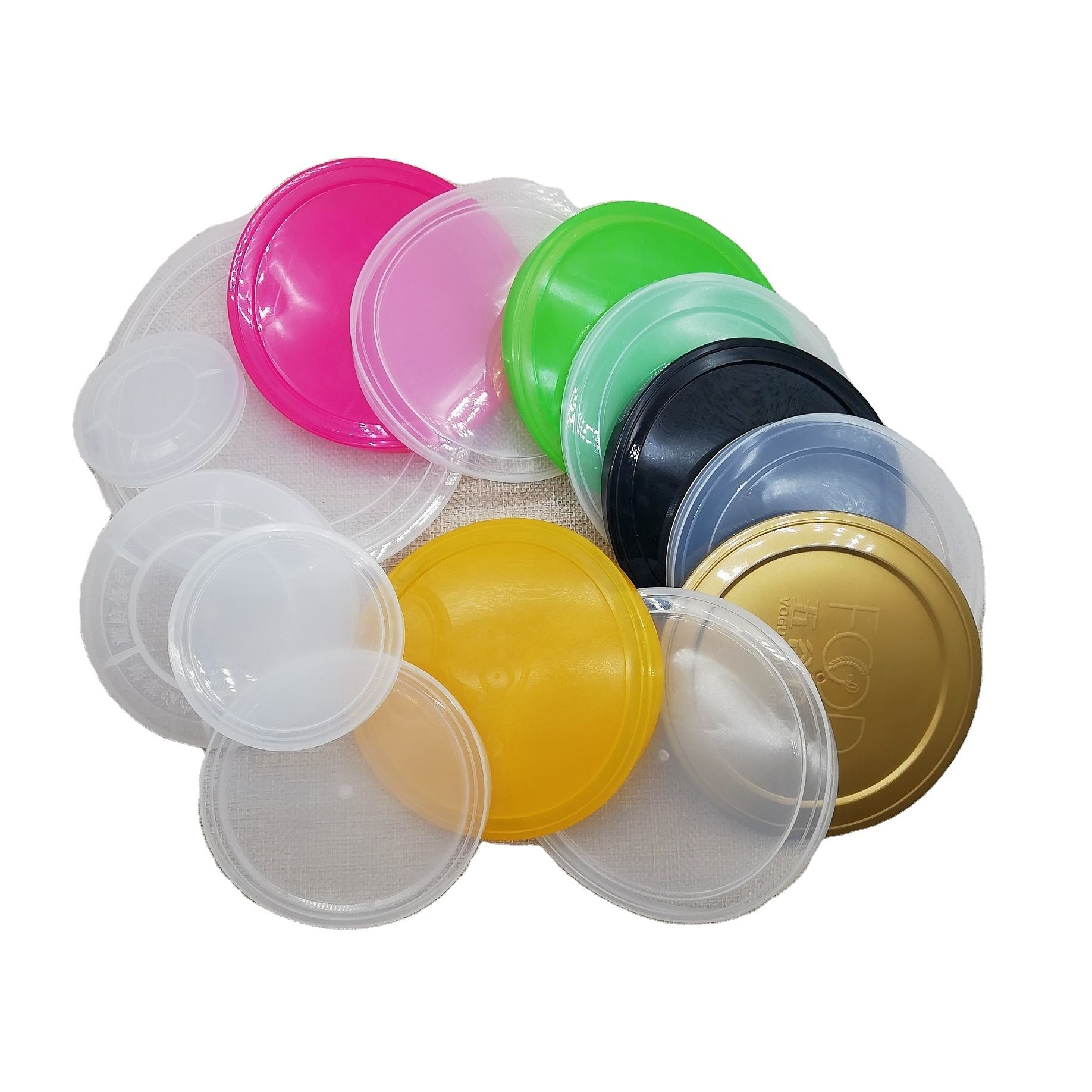 PE Plastic Cover for Metal Can Lids