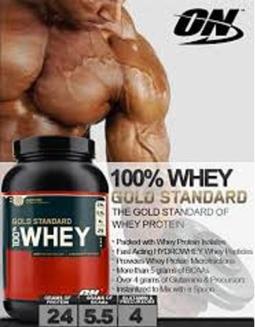 Optimum Nutrition 100% Whey Gold Standard/padrão ouro whey protein