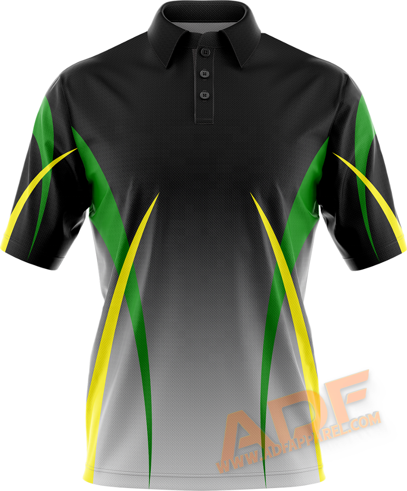 Hohe qualität sublimation golf shirt digital volle druck sublimation polo t shirt