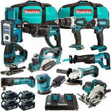 Authentic Makitas LXT1500 18-Volt LXT Lithium-Ion Cordless 15-Piece Combo Kit / for sale