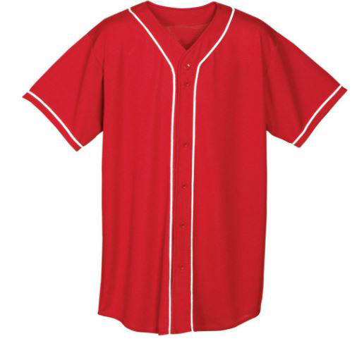 Factory manufactured sublimated OEM customize baseball jersey whole sale