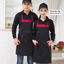 HL020938 OEM Service Beautiful cheap Eggplant Vietnam customised logo Aprons adjustable Aprons for kids by HALIMEX