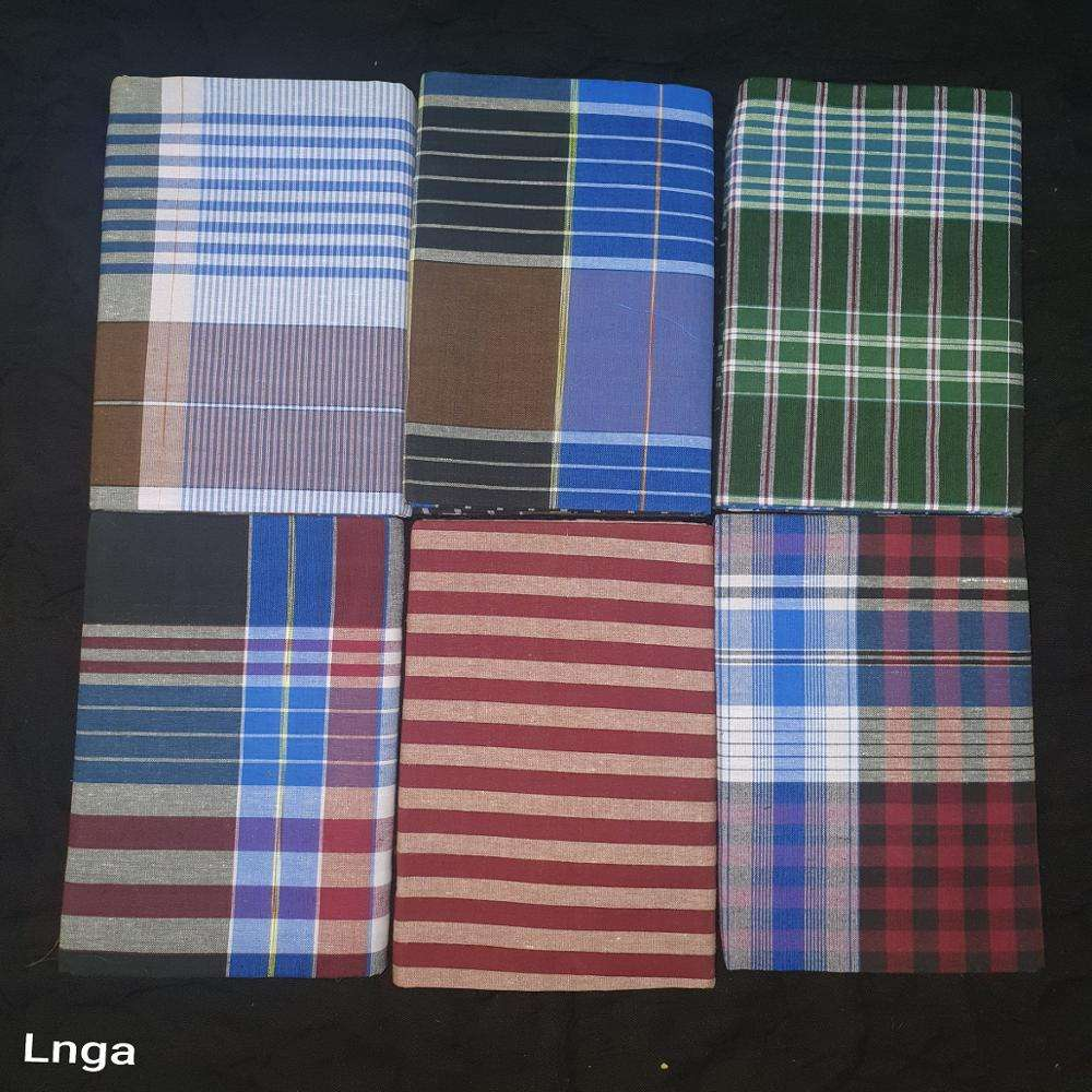 100% cotton Lungi sarong for Men