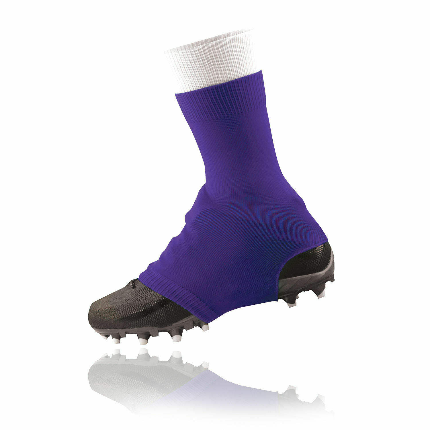Pure wholesale product football cleats cover spat american/cleat covers spats/pink cleat covers