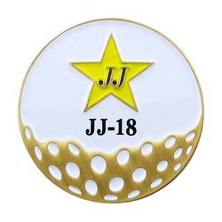 Wholesale Manufacturers Metal Custom Golf Ball Markers
