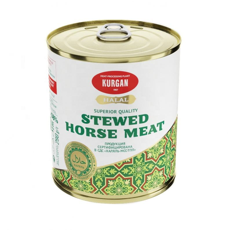Stewed Horse Meat superior quality Halal