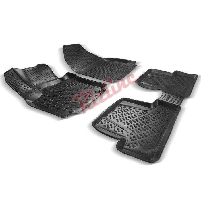 RIZLINE for clio 4 2012-2019 Car mat interior floor liner boot liner high quality waterproof customized according to vehicle
