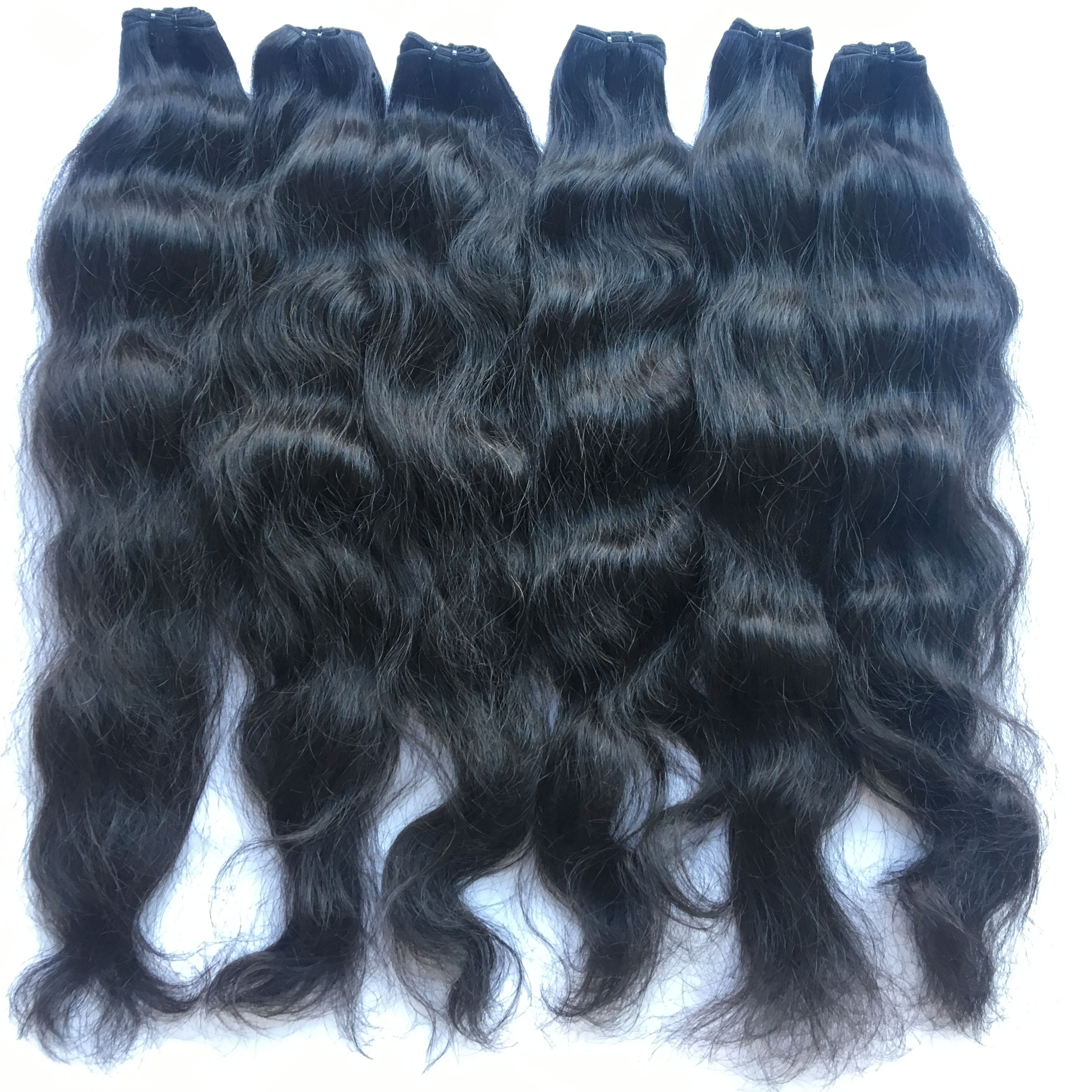 Raw Cambodian Hair 100% Human Hair With No Filler Synthetic Strands Virgin Hair