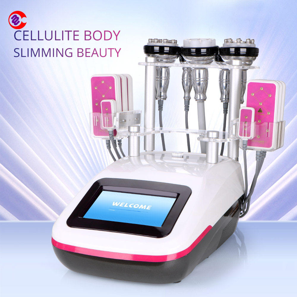 Unoised Cavitation 40K Ultracavitation Và Rf 5 Trong 1 Salon 40Khz Cavitation Rf Slimming Máy