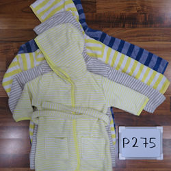 Girls Striped Bathrobe - Mix Colors