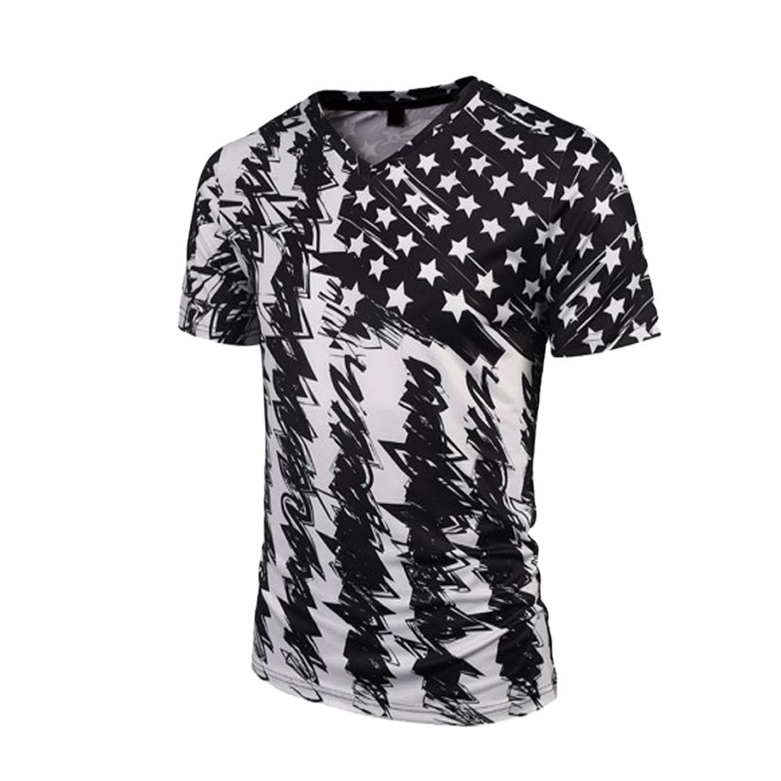 2020 Fashion Design Mens American Flag Sublimated T Shirts