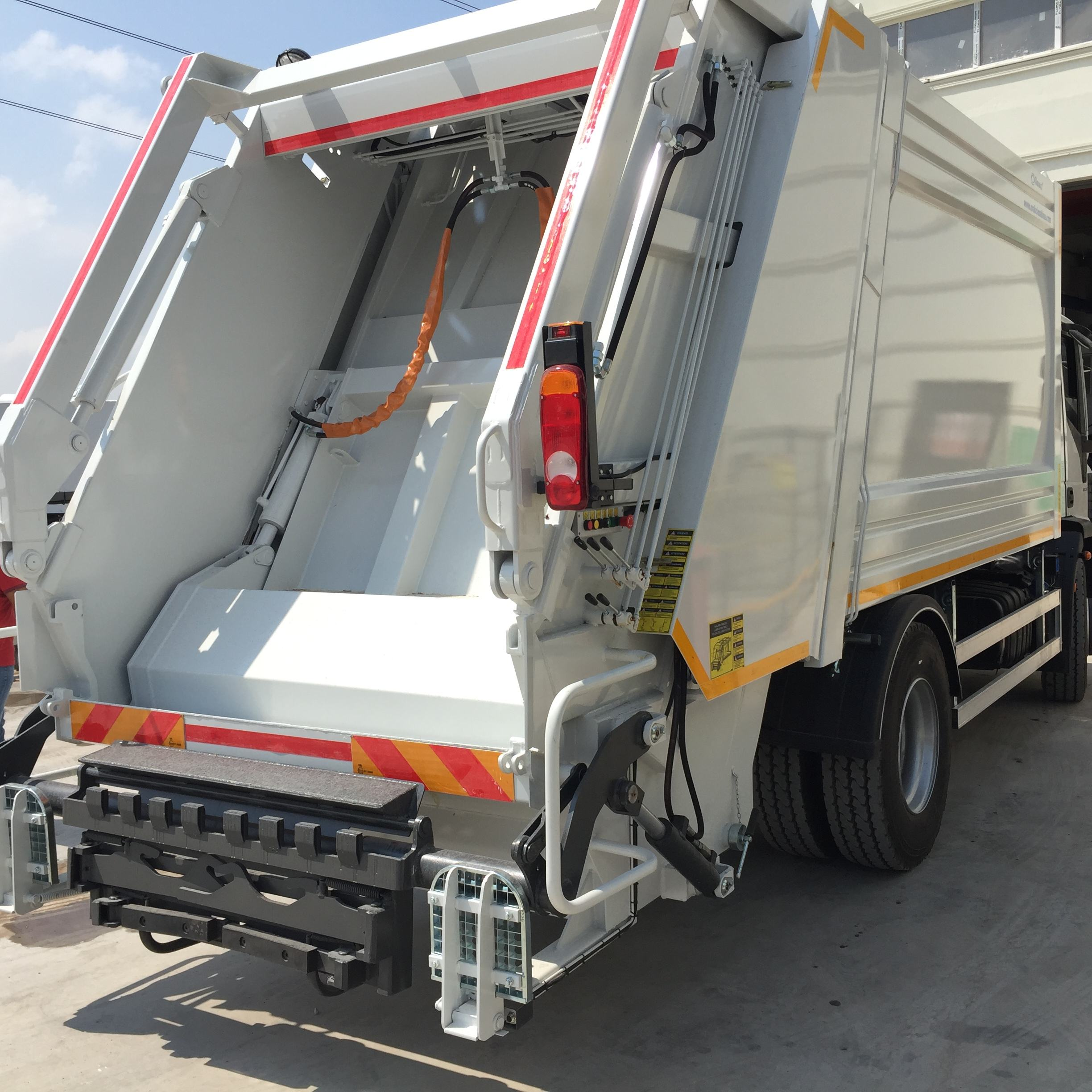 Orakci Machine 20 CBM Garbage Compactor Truck for price sale
