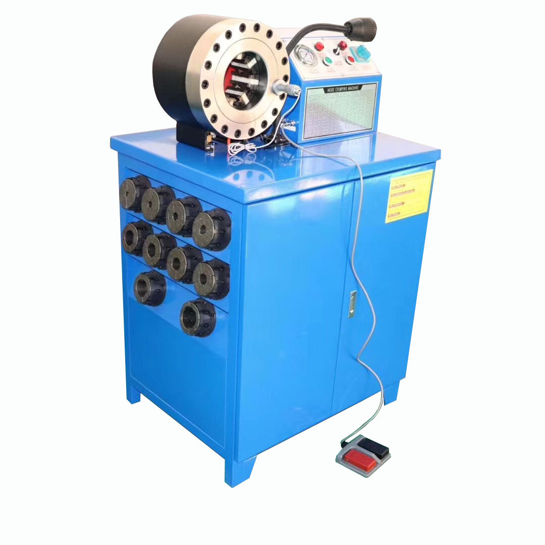 hose skiving and crimping machine from 1/4 to 2inch