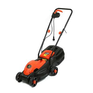 Supplier sale hand push corded plastic metal powered electric lawn mowers