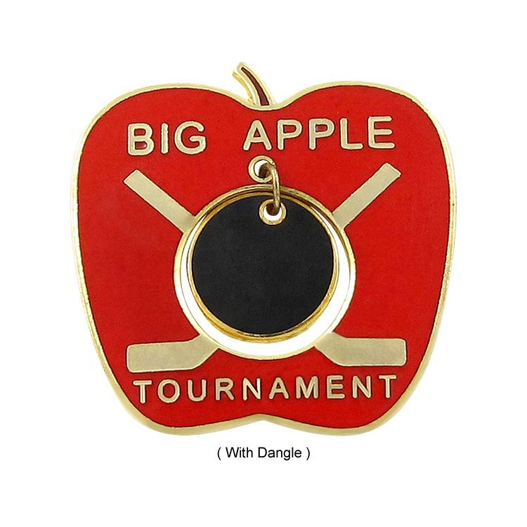 34 Years Experience China Manufacturers Custom Apple Lapel Pin
