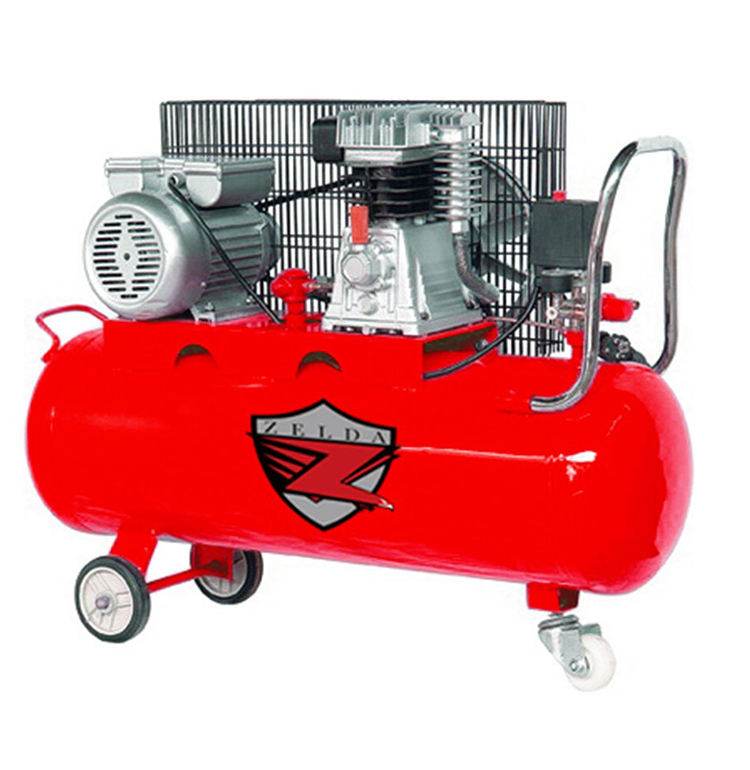 Italy type electric belt driven piston air compressor 3HP 200L