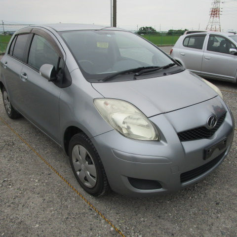 Toyota Vitz from Japan Car Auction
