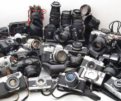 Used Japanese camera Digital camera,film camera,lens,etc. Many popular and rare products are also mixed