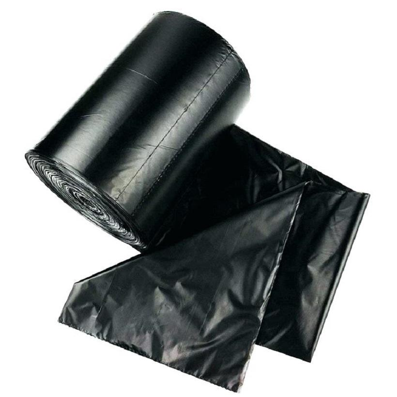 a thicker gauge plastic bag HDPE star seal roll bags