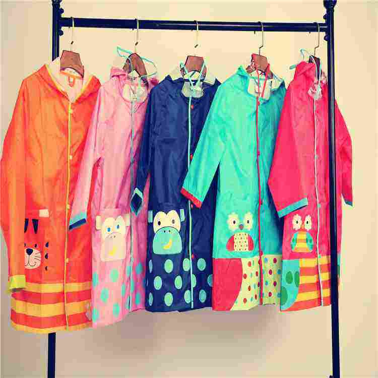2019 cheapest children's raincoat waterproof