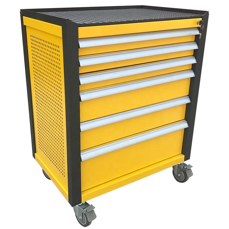 Tool Trolley Cabinet with 6 Drawers